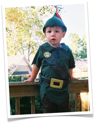 Tate as Peter Pan