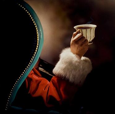 Santa's toast